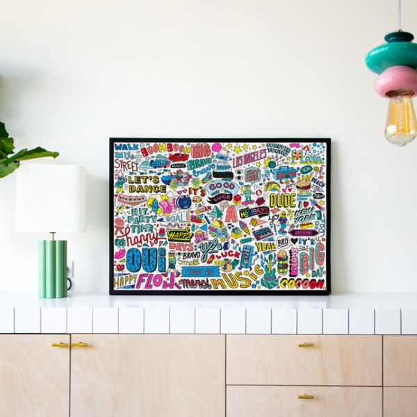 Puzzle 1000 pièces Street Art