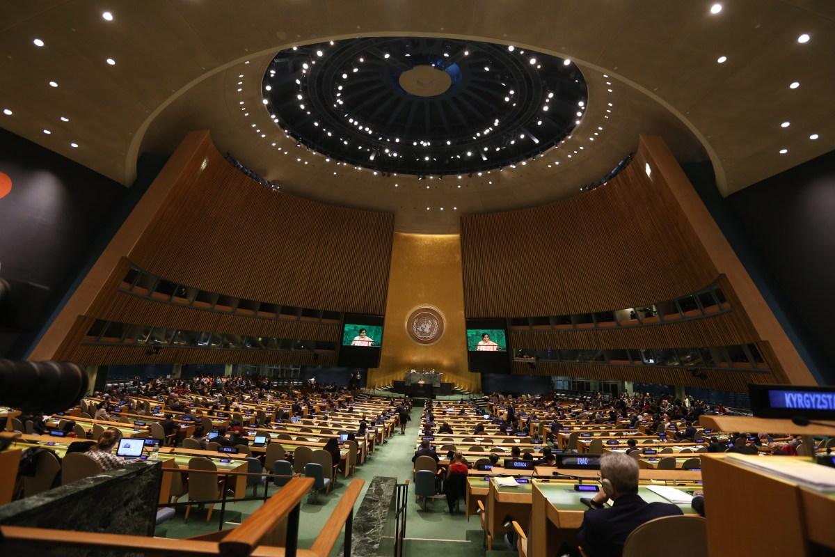 The U.N. Convenes in New York