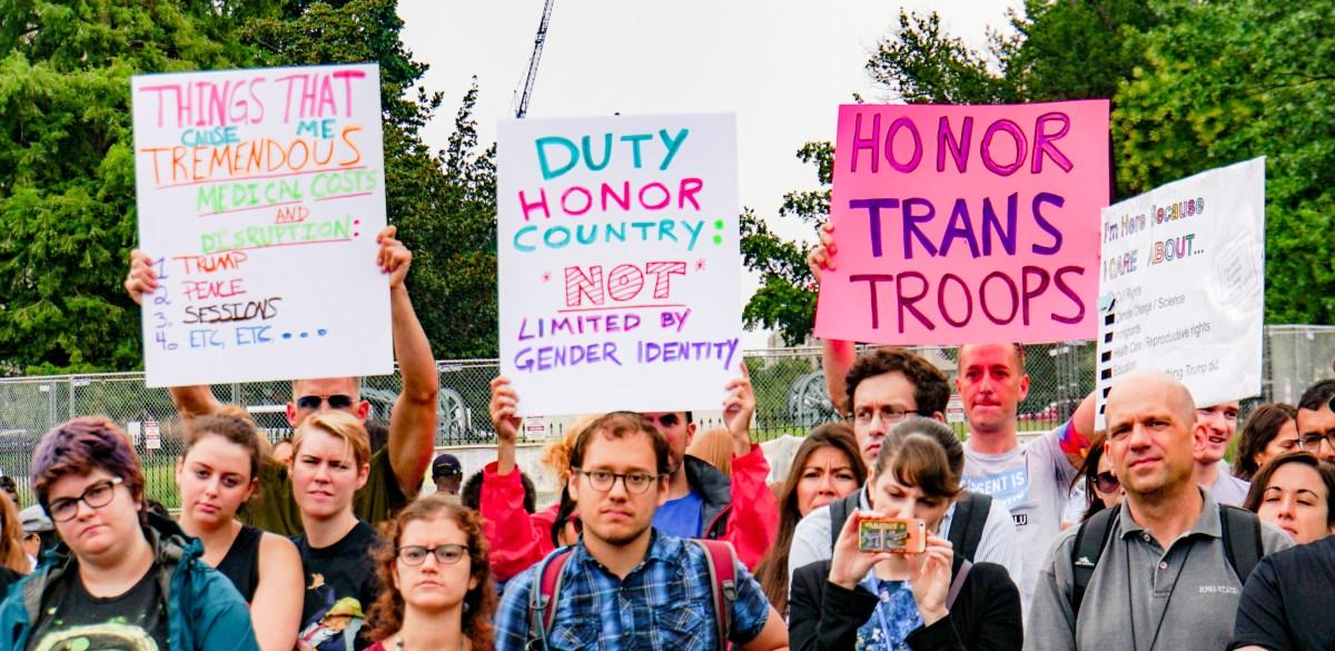 Transgender Ban and Supreme Court