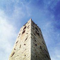 Quinta tappa presso Pieve di San Pantaleone in Pieve a Elici, costruzione romanica, una delle chiese più vecchie della zona,