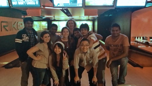 CQUniversity Student Blog - Marcela with friends