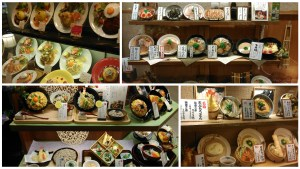 Food models outside restaurants (1)