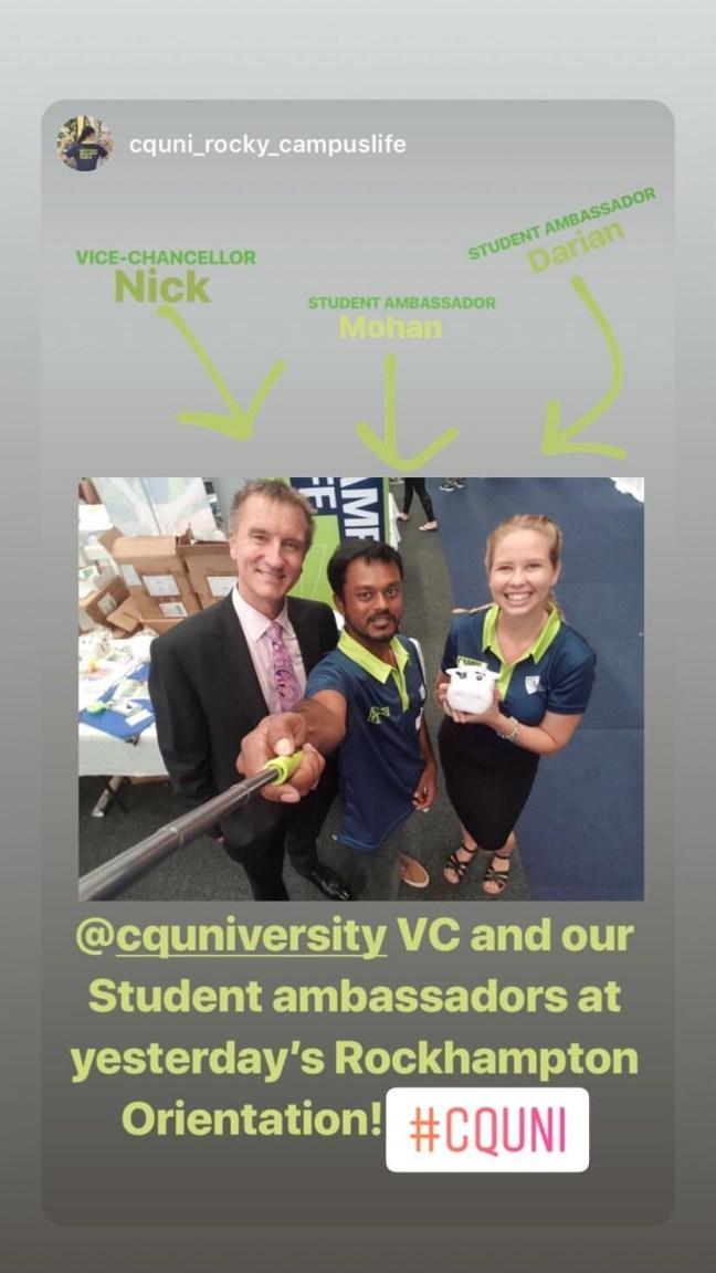 Campus Life and VC at CQUniROK