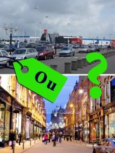 centre vs centre commercial marketing