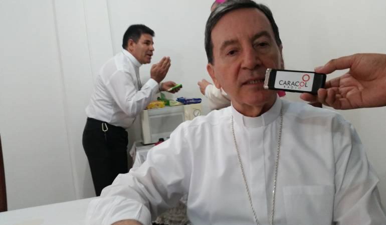 Monseñor, Ruben Salazar, no descarto una mínima disidencia en las filas de las farc por inconformismo en los acuerdos.