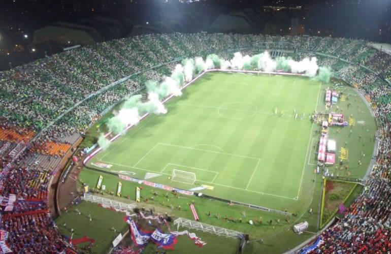 Got a good photo of estadio deportivo cali? HINCHAS DEL CALI N ESTADIO FINAL ATLÉTICO NACIONAL