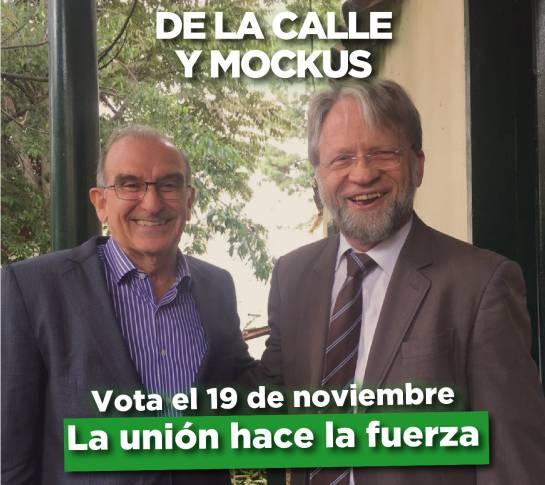 Antanas Mockus Humberto de La Calle consulta liberal: Antanas Mockus votará por Humberto de La Calle en la consulta liberal