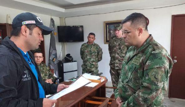 Ejército corrupción: Primeras capturas por corrupción en el Ejército