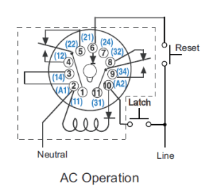 CR4  Thread: Wiring Octal 11pin Latching Relay