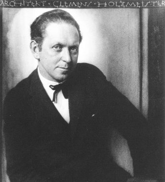 1926 Potrrait of Holzmeister by Josef Trčka