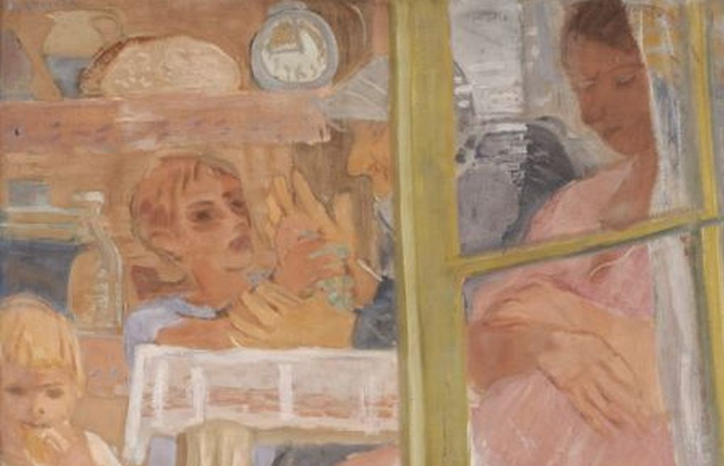 Artwork of the Month, July 2019: Family by Gyula Derkovits (1932)