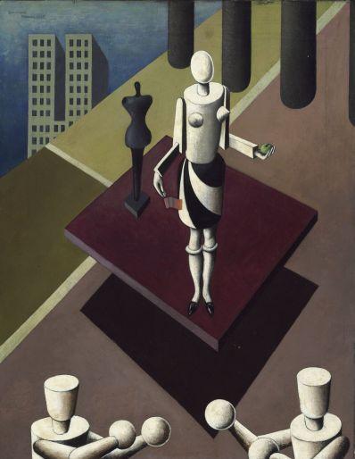 The New Eve by Sándor Bortnyik (1924)