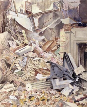 Joseph Bato: Connaught Mews, Marble Arch, W1, 1940