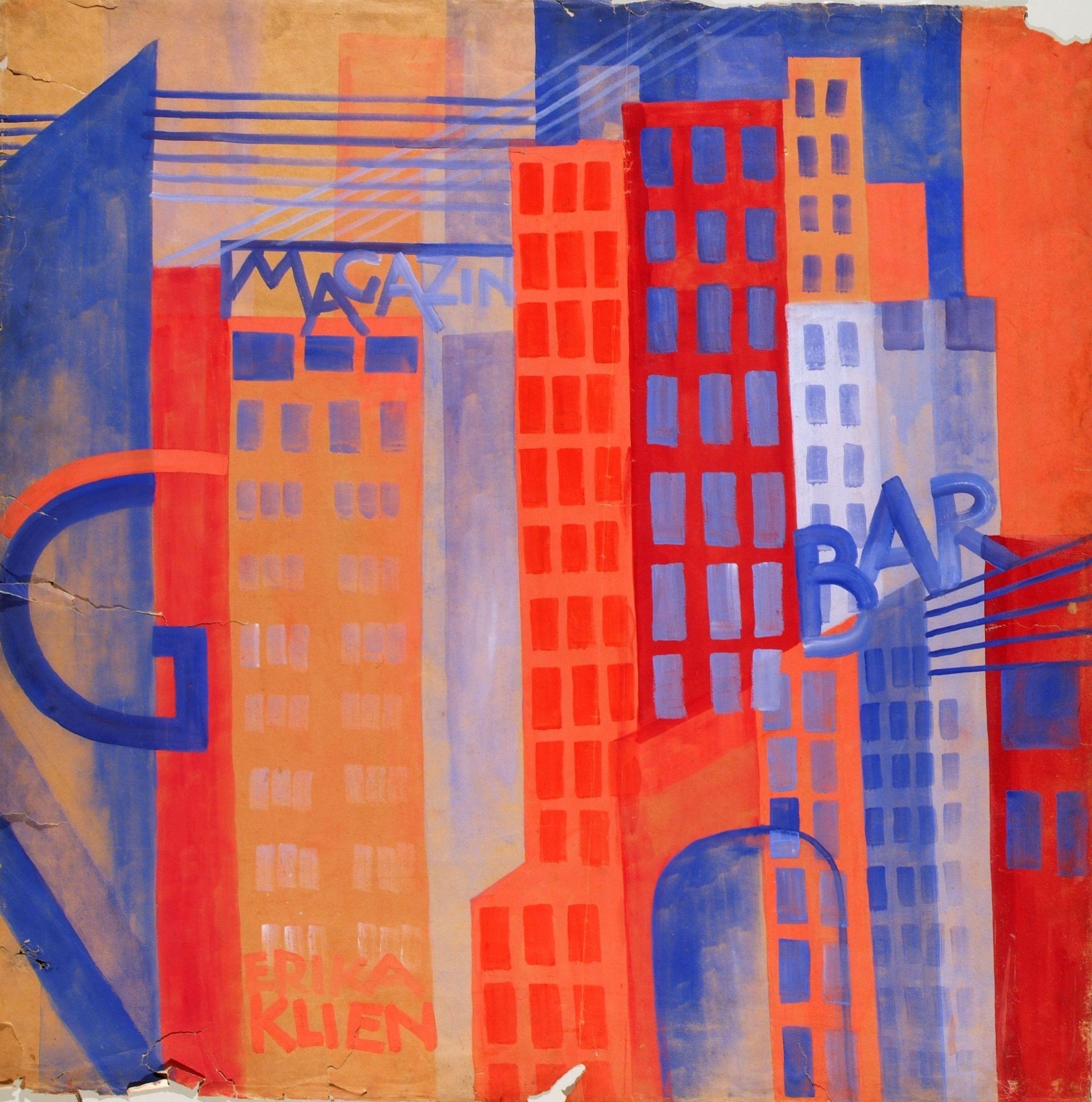 Artwork of the Month, June 2020: A Walk Through the Metropolis by Erika Giovanna Klien (1923)
