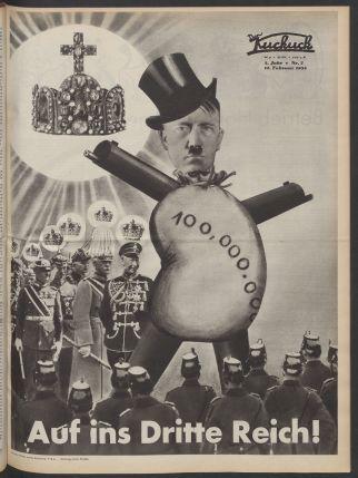 Artur Stadler Cover of Der Kuckuck 1933