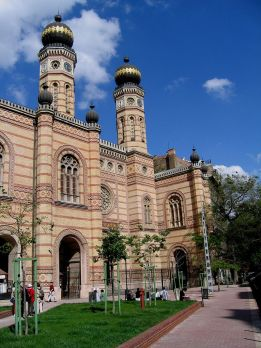 Ludwig Förster: The Great Synagogue on Dohány Street, Budapest