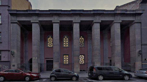 Artúr Szalatnai: Bratislava Orthodox Synagogue, 1926