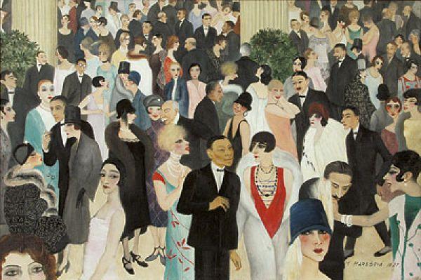 Milada Marešová: Charity Bazaar, 1927