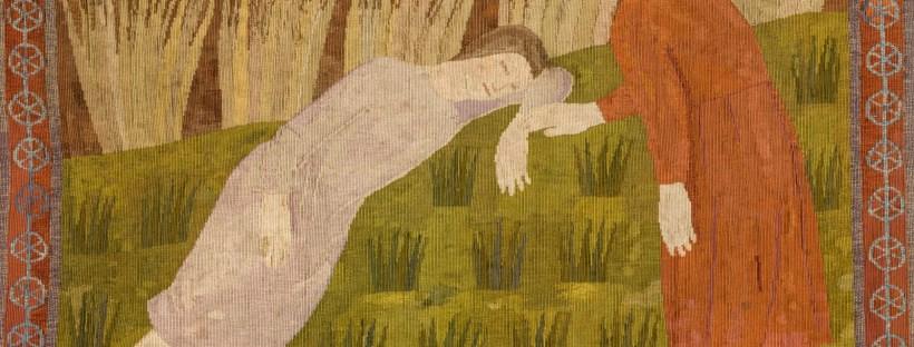 Awakening, gobelin by Noémi Ferenczy, 1926-27
