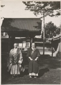 Alice Schalek: A priest of the Nichiren Buddhist sect