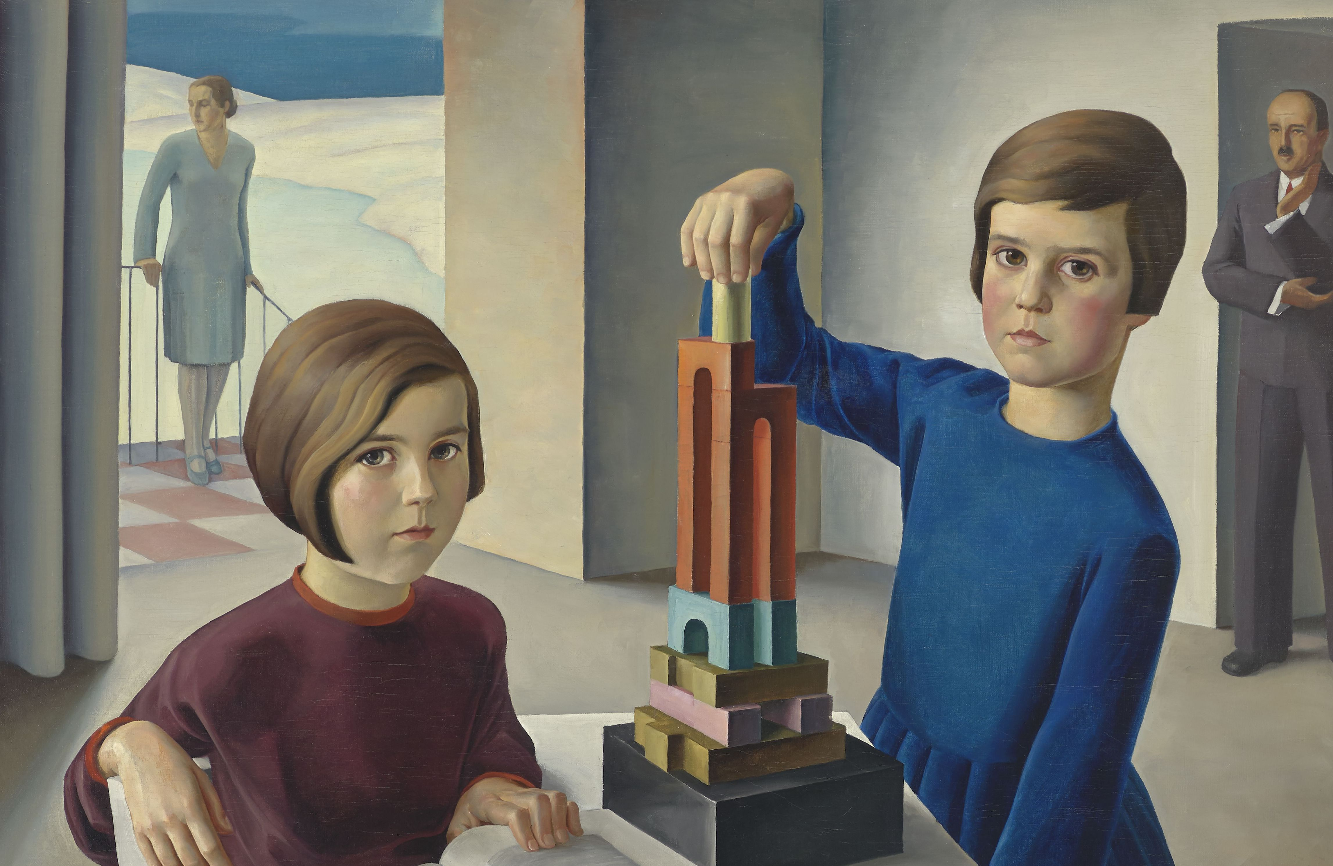 Artwork of the Month, April 2021: Family Portrait (The Keller Family) by Ernst Nepo (1929)