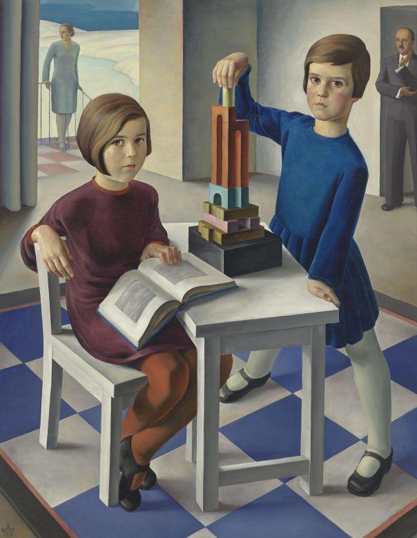 Ernst Nepo, Familienportrat Keller, 1929