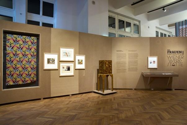 Exhibition View, 2021: Women Artists of the Wiener Werkstätte, MAK Exhibition Hall