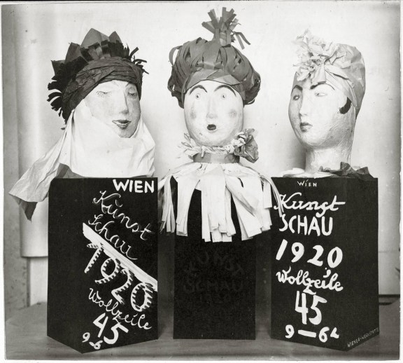 Fritzi Löw and Hedwig Schmidl, Decoration objects for the art exhibition 1920