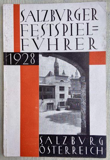 Kai (Kajetan) Mühlmann and Poldi Wojtek: Guide to the Salzburg Festival, 1928