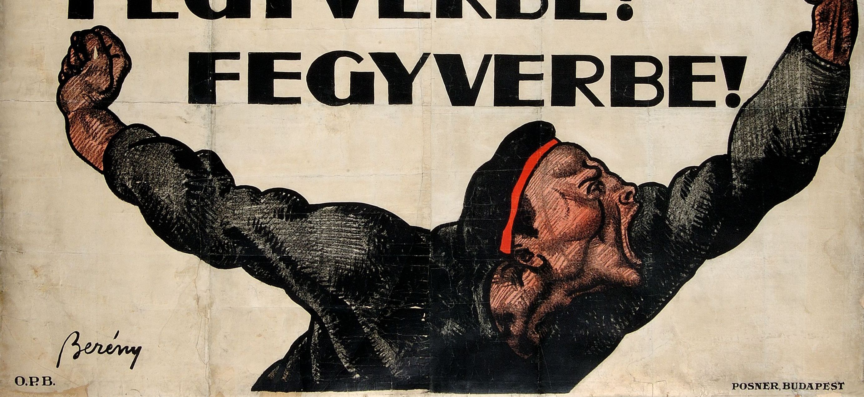 Artwork of the Month, August 2021: To Arms! To Arms! by Róbert Berény (1919)