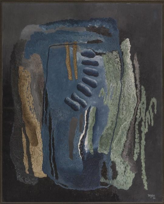 Toyen - Fjords, 1928