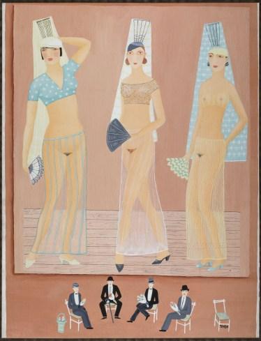 Toyen - Three Dancers, 1925