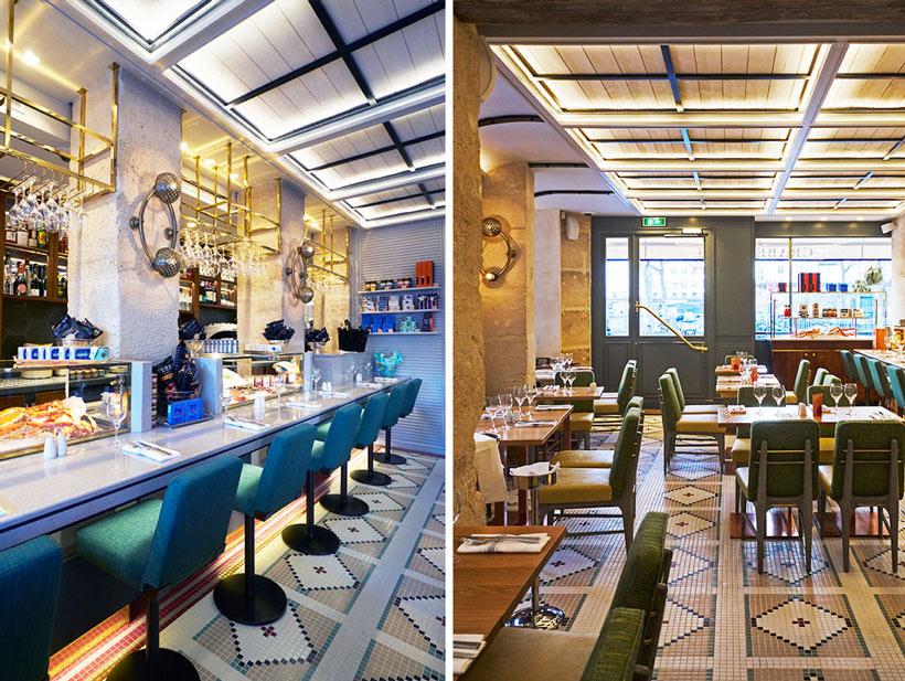 crabe royal restaurant de fruits de mer paris. Black Bedroom Furniture Sets. Home Design Ideas