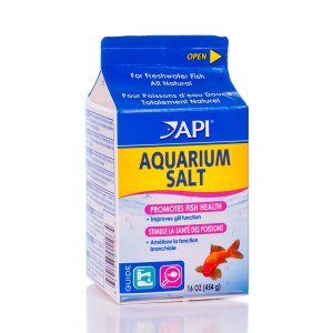 Freshwater aquarium salt is not the same as marine or ocean salt