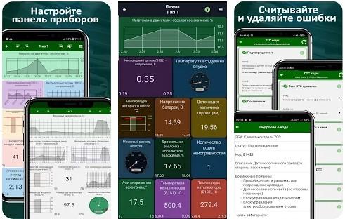 MotorData OBD Car Diagnostics скриншоты
