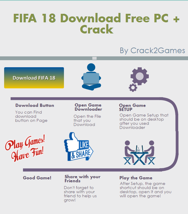 FIFA 18 download crack free