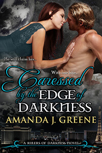 caressed edge darkness