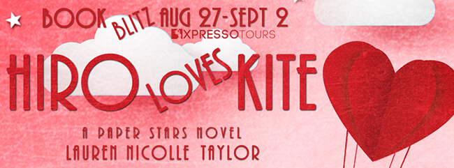 Guest Post: Why I Wrote Hiro Loves Kite by Lauren Taylor