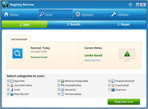 ReviverSoft Registry Reviver License Key
