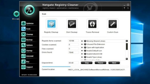 NETGATE Registry Cleaner 2019 18.0.570.0 Crack
