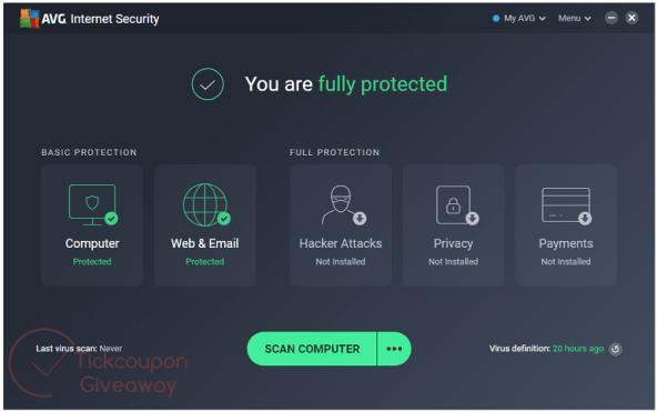 AVG Internet Security 2020 Serial Key