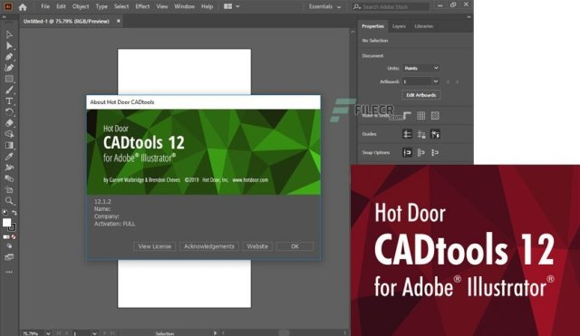 Hot Door CADtools 12.1.3 Crack