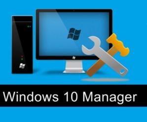 Yamicsoft Windows 10 Manager 3.3.3 Crack Free Download
