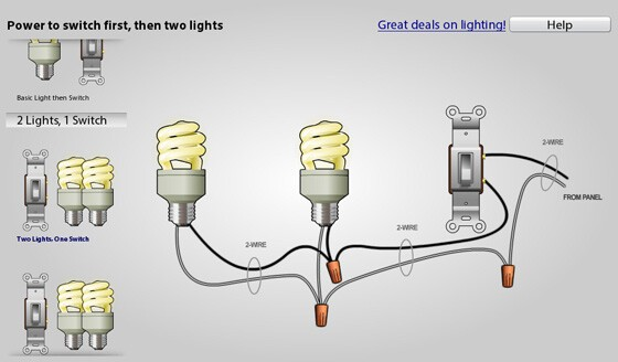 house wiring lights – the wiring diagram – readingrat,