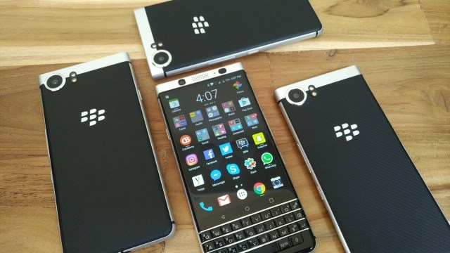 Image result for BlackBerry KEYone review: pushes all the right buttons