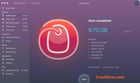 CleanMyMac X 4.8.4 Crack + Activation Code Free Download 2021