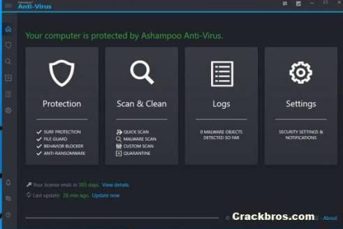 Ashampoo AntiVirus 2020.4.2 Crack incl Activation Key Free Latest
