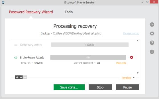 Elcomsoft Phone Password Breaker patch