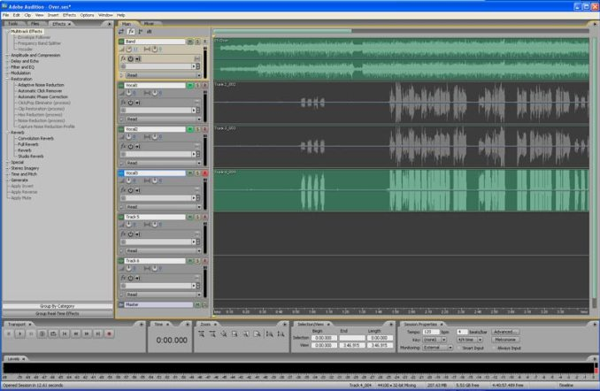 Adobe Audition CS3 Crack Full Version
