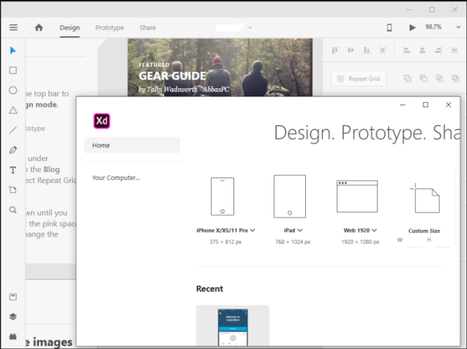 Adobe XD 43.0.12 Crack Full Version (Pre-patched)